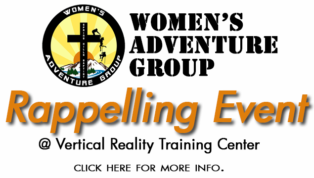 Women's Adventure Group (WAG) Rappelling Event