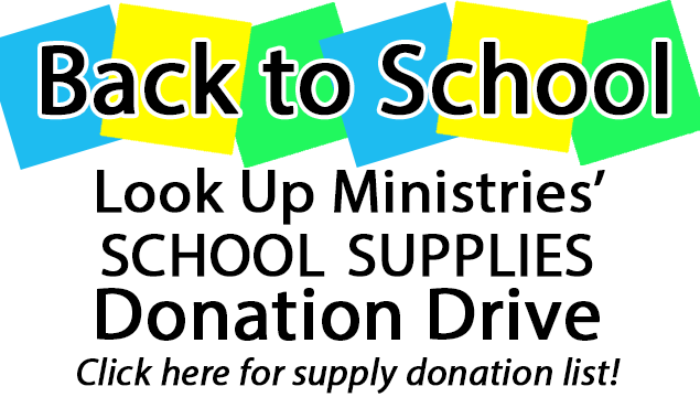 Look Up Ministries School Supply Donations