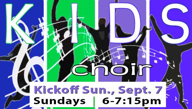 Kids Choir Kickoff