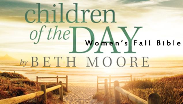 Women's Bible Study Fall 2014