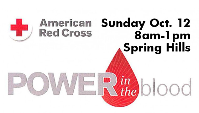 2014 Red Cross Blood Drive