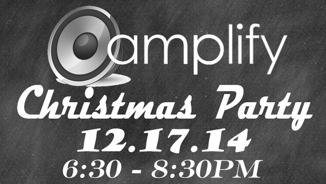 Amplify Christmas Party 2014
