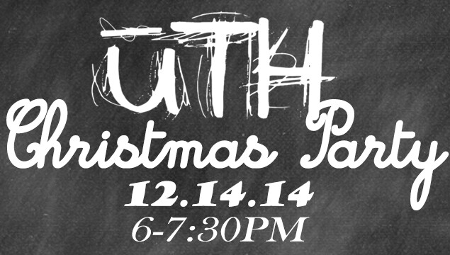 uTH Christmas Party 2014