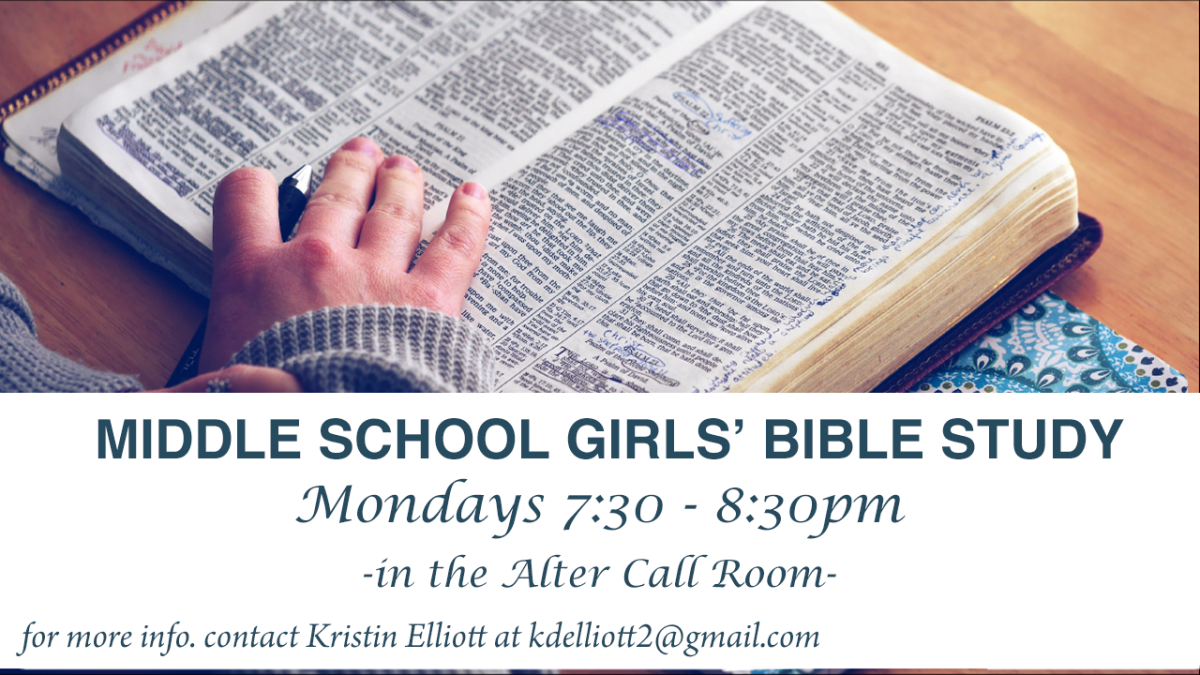 Middle School Girls Bible Study