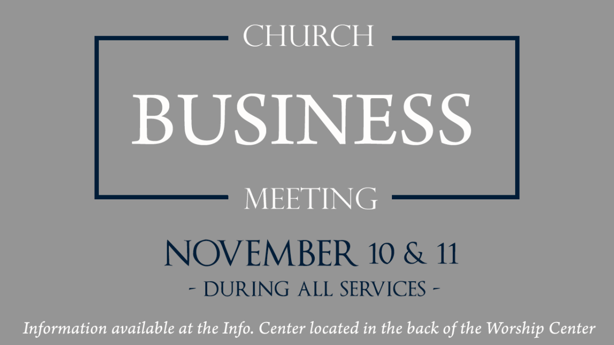 SHBC Annual Business Meeting