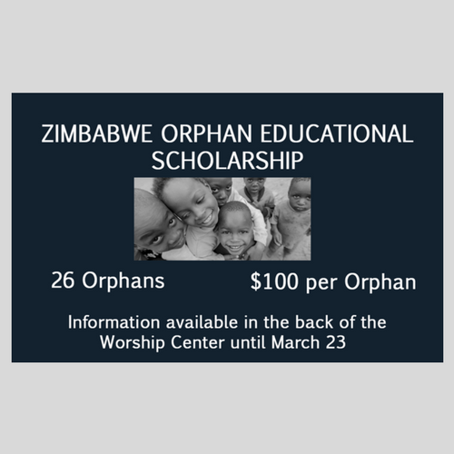 Zimbabwe Orphan Educational Scholarship