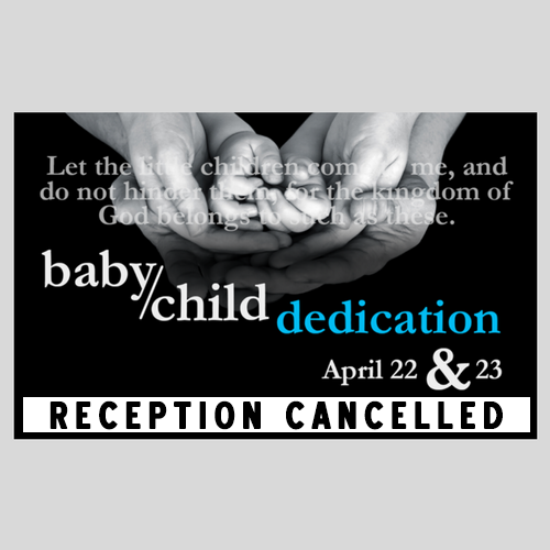 Baby/Child Dedication