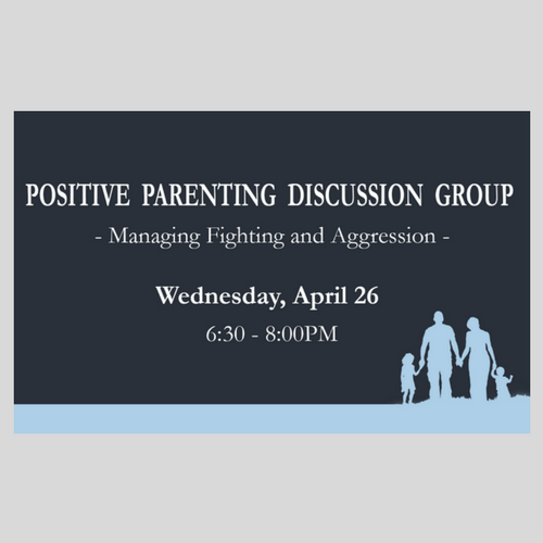 Positive Parenting Discussion Group - SHU
