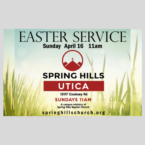 11am Easter Weekend Service - Utica Campus