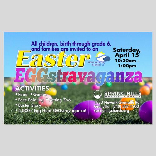 SHBC Easter EGGstravaganza!
