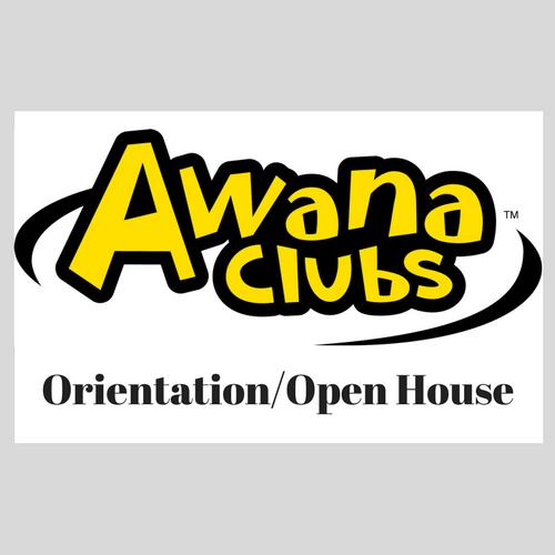 AWANA Orientation/Open House Night