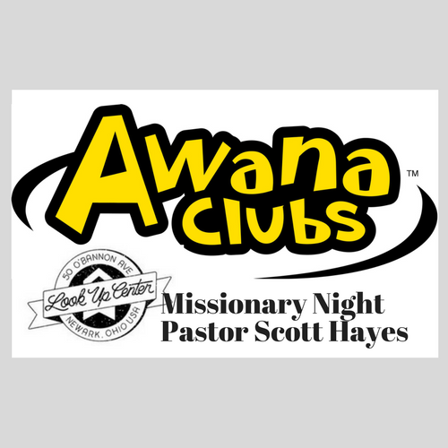 AWANA Missionary Night