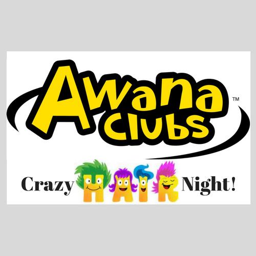 AWANA Crazy Hair Night