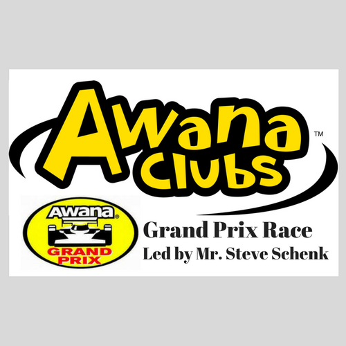 AWANA Grand Prix Race!