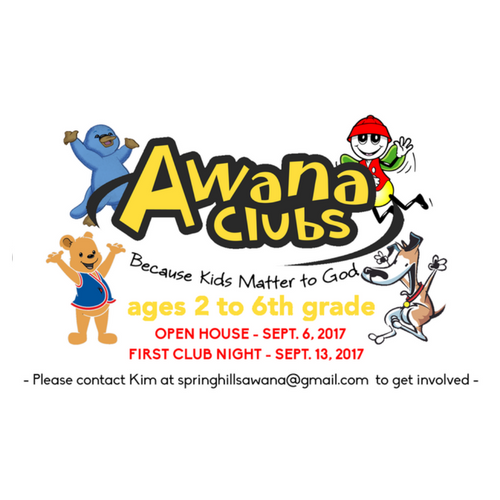 AWANA Orientation/Open House Night