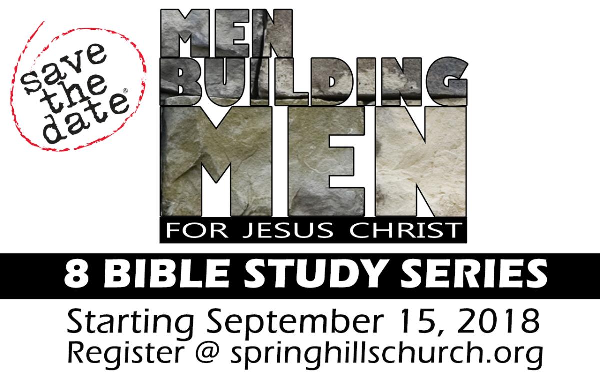 "Men's ""8"" Bible Study"