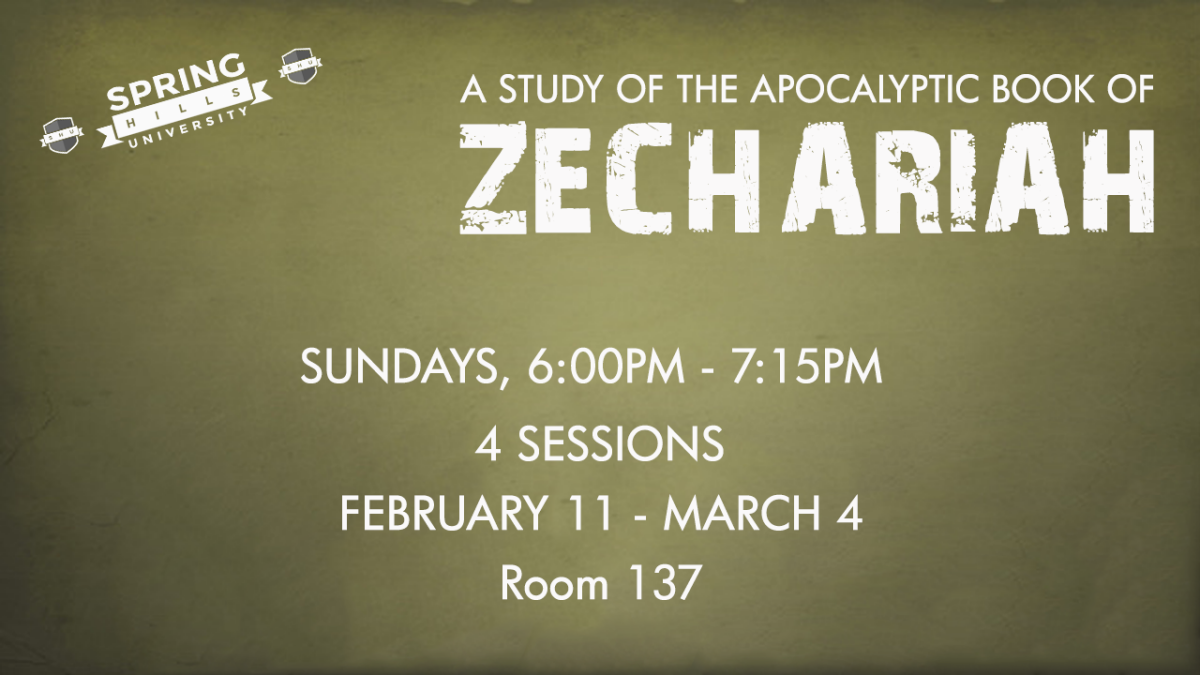 A Study of the Apocalyptic Book of Zechariah
