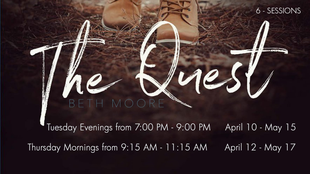 Women's Spring Bible Study - Tuesday