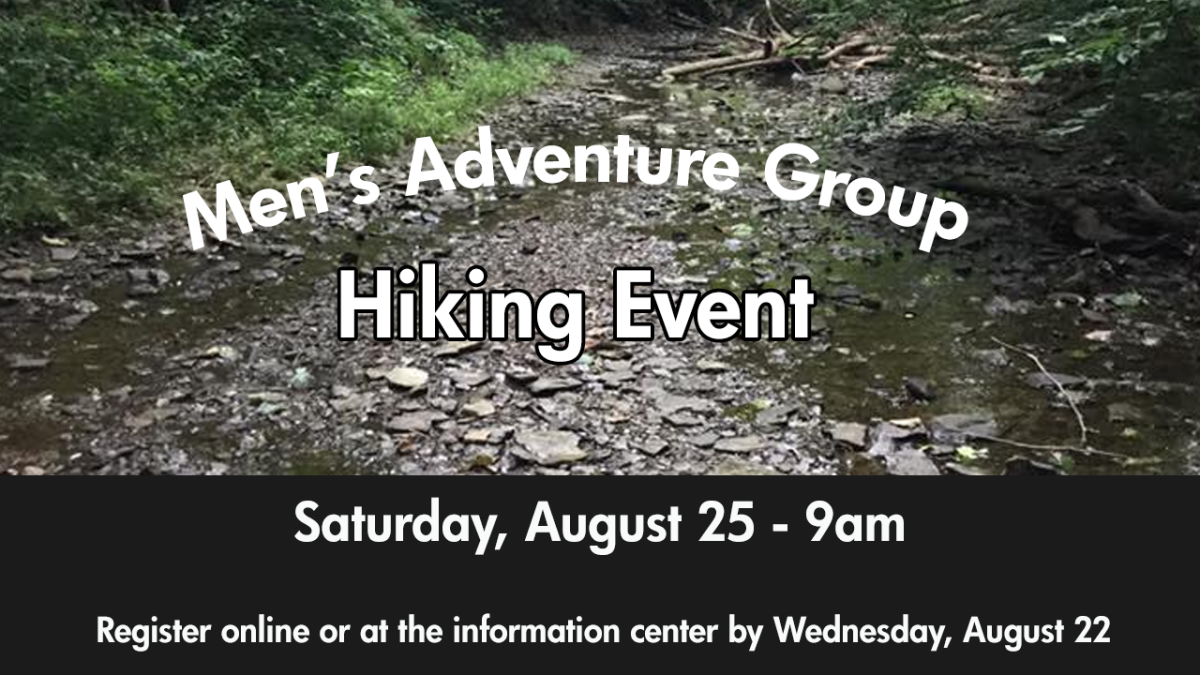 Men's Adventure Group - Hiking Event