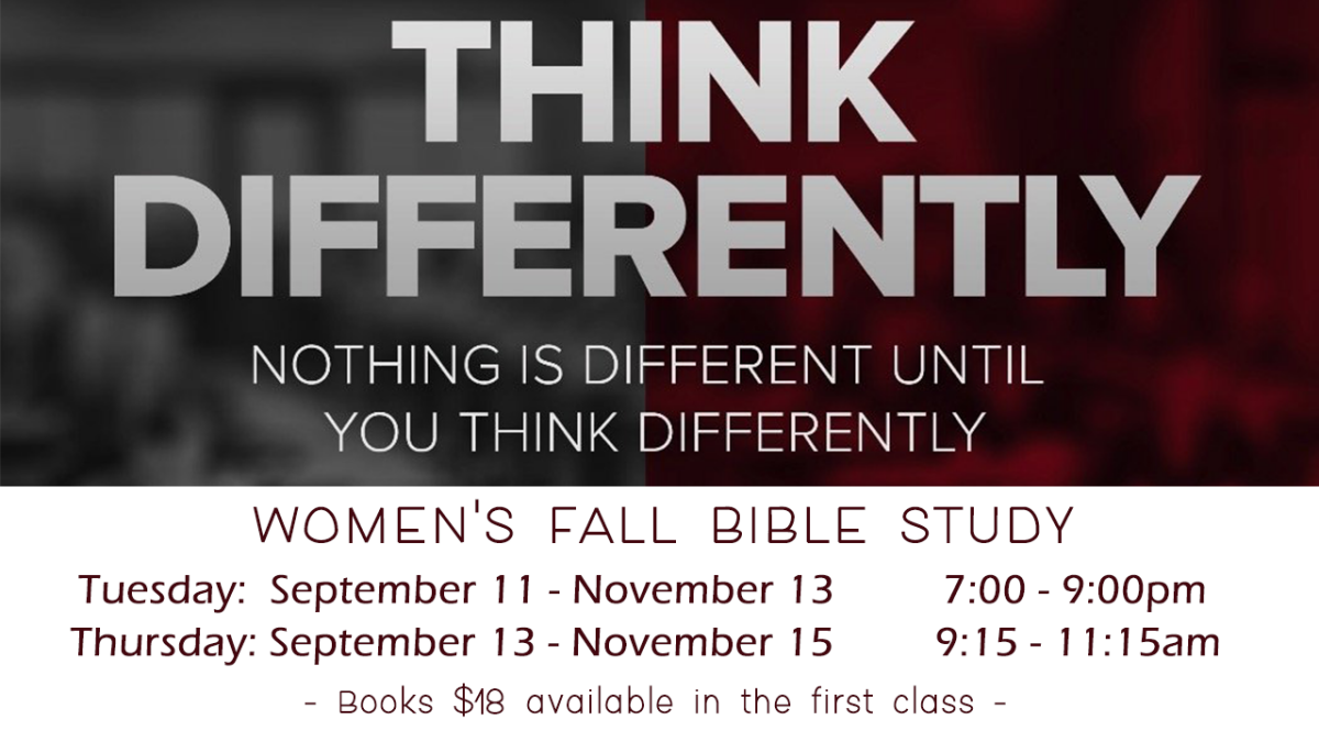 Women's Fall Bible Study - Tuesday
