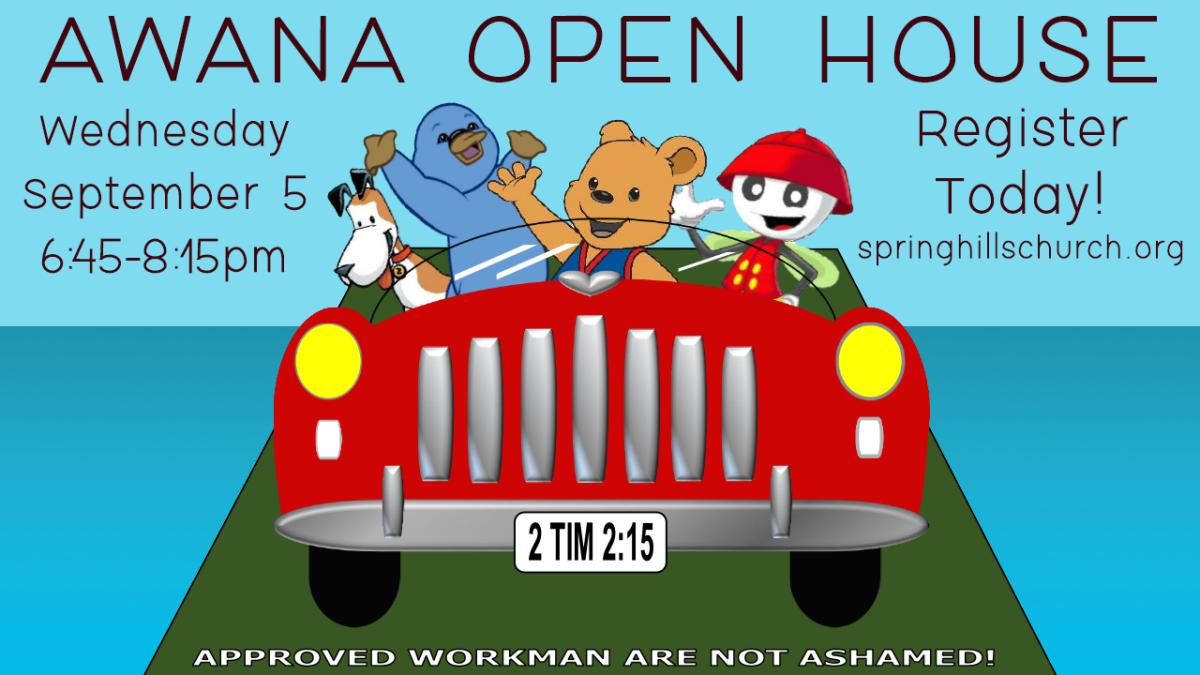 AWANA Open House Event