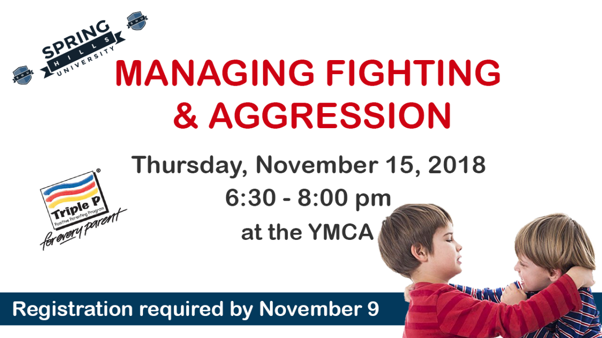 Positive Parenting - Managing Fighting and Aggression