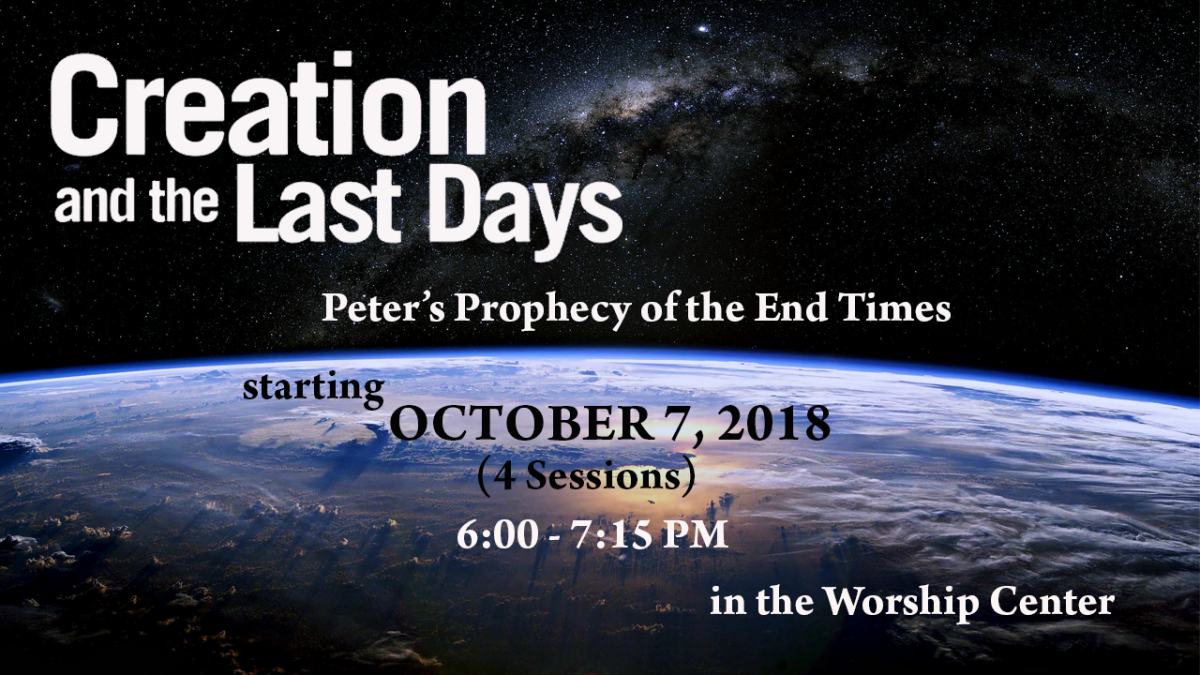 Creation and the Last Days - Peter's Prophecy of the End Times