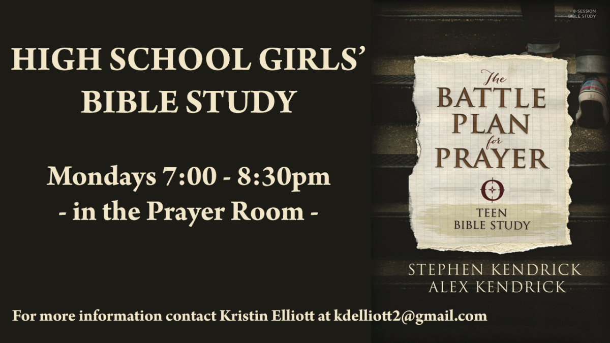 High School Girls Bible Study