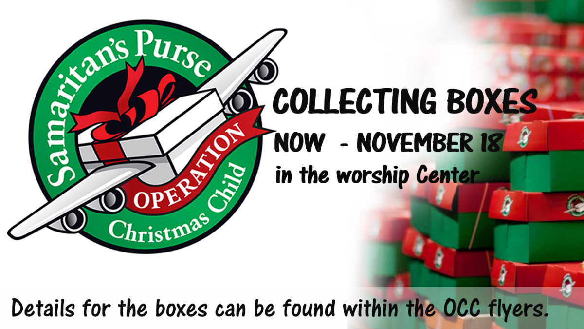 Operation Christmas Child - ShoeBoxes of Love!!