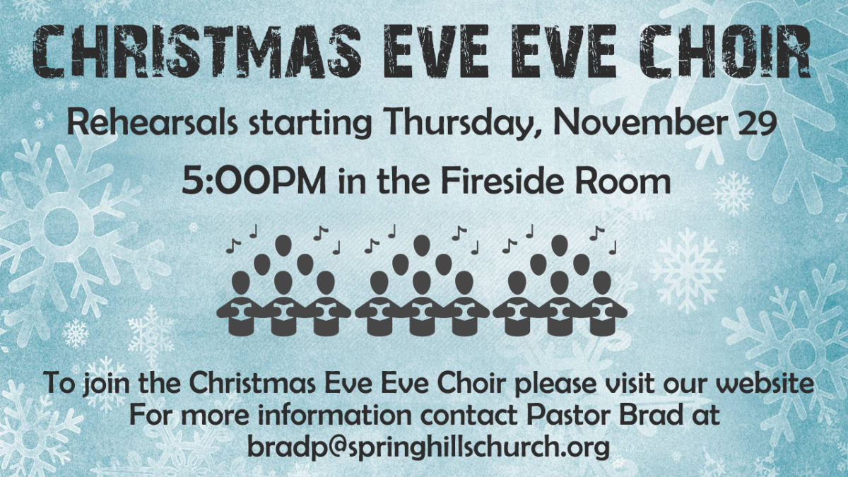Christmas Eve Eve Choir