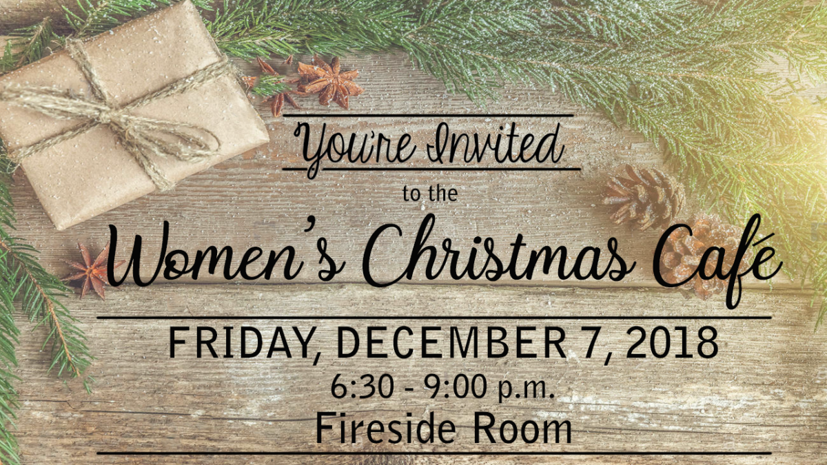 Women's Christmas Cafe
