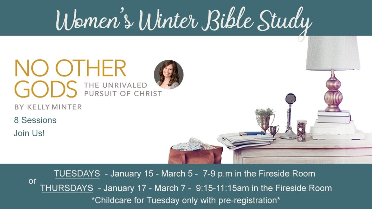 Women's Winter Bible Study - Tuesday