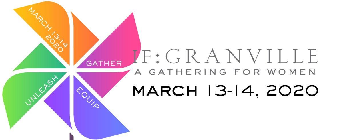 REGISTRATION - IF: Granville / A Gathering for Women