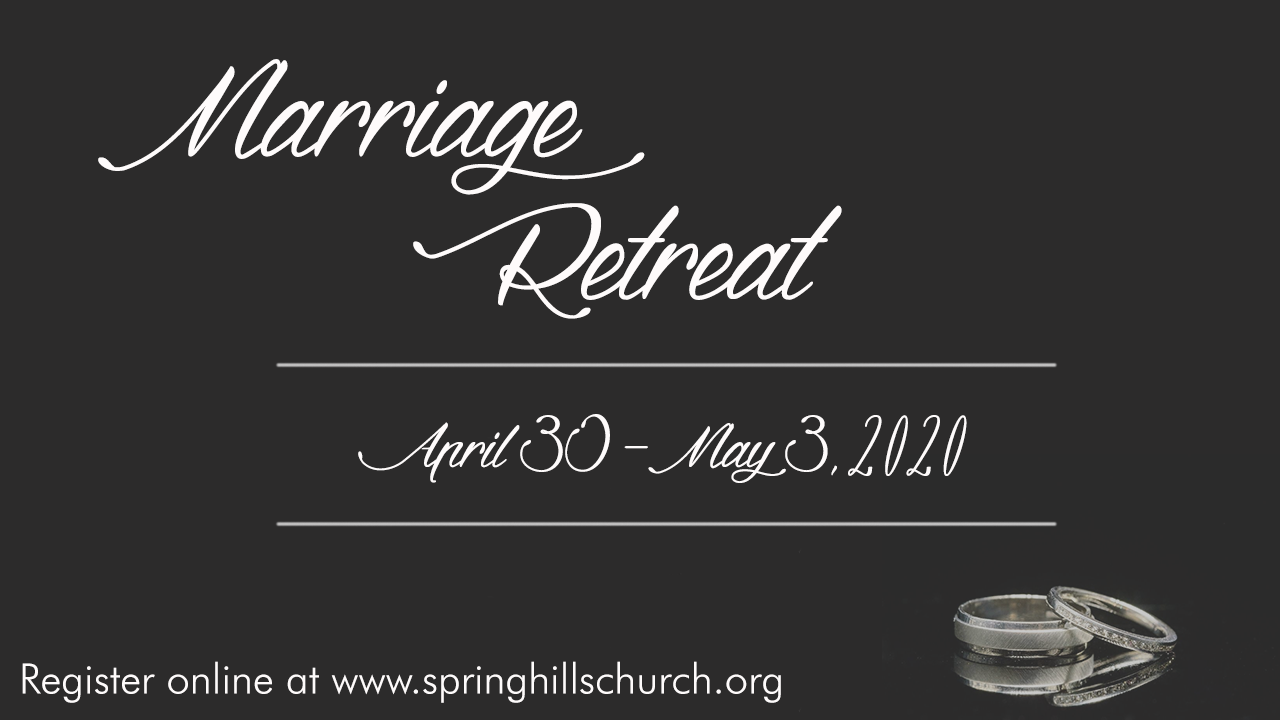 "Marriage Retreat ""A Get Away in the Smokies"""