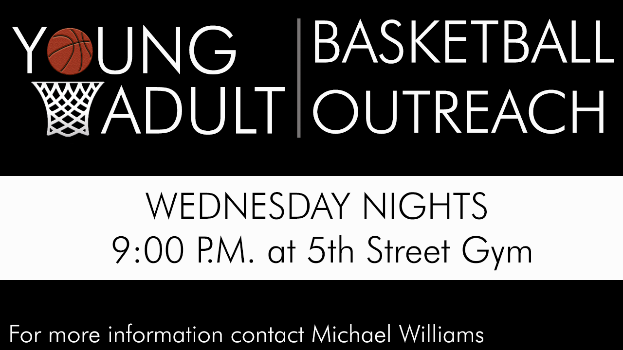 Young Adult Basketball Outreach