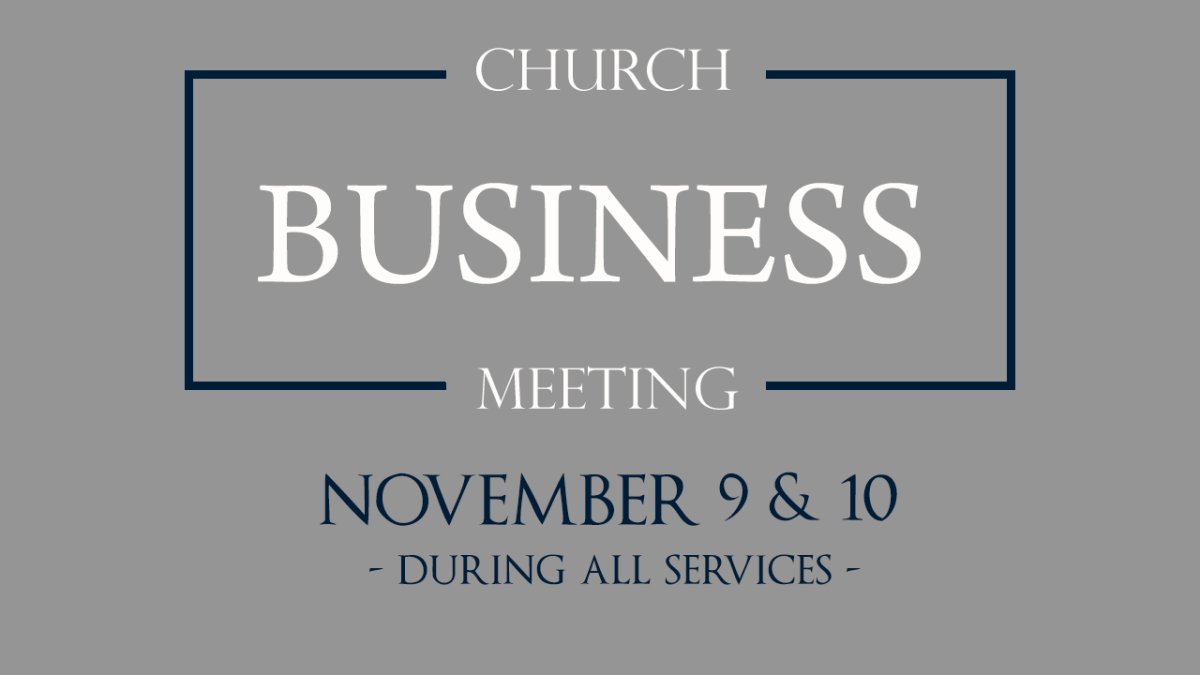 SHBC Annual Business Meeting