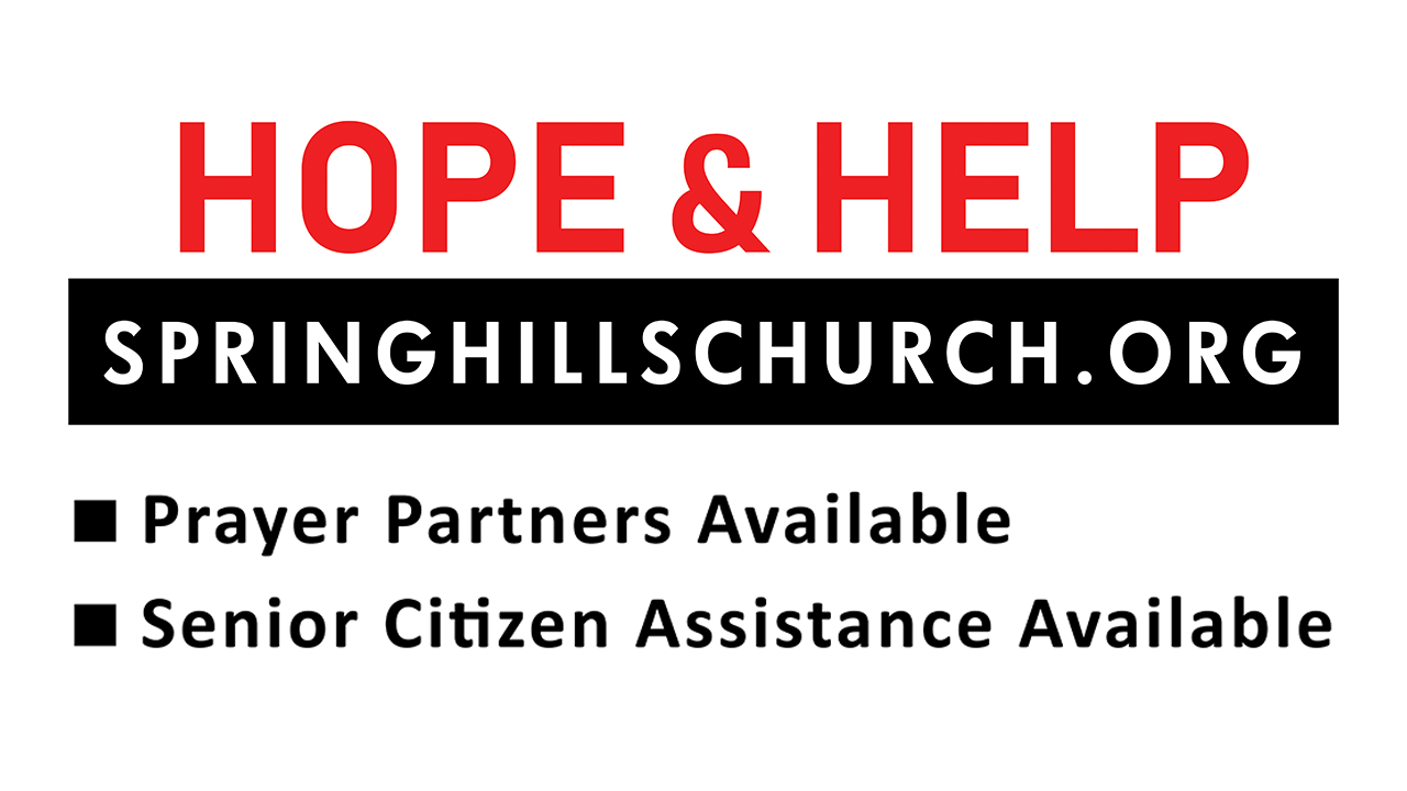 Hope & Help Opportunities