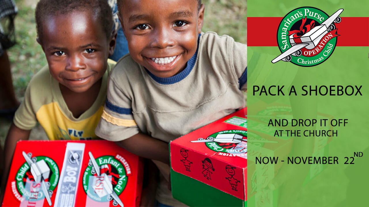 Operation Christmas Child - Shoebox Collection