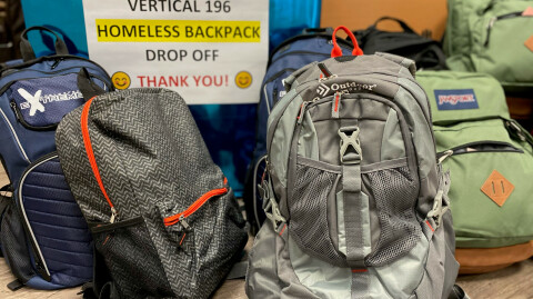Backpacks for Homeless
