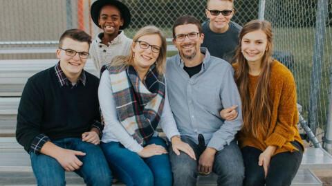 The Sfura Family in Central Illinois