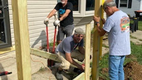 Phillips Family Wheelchair Ramp Go Project