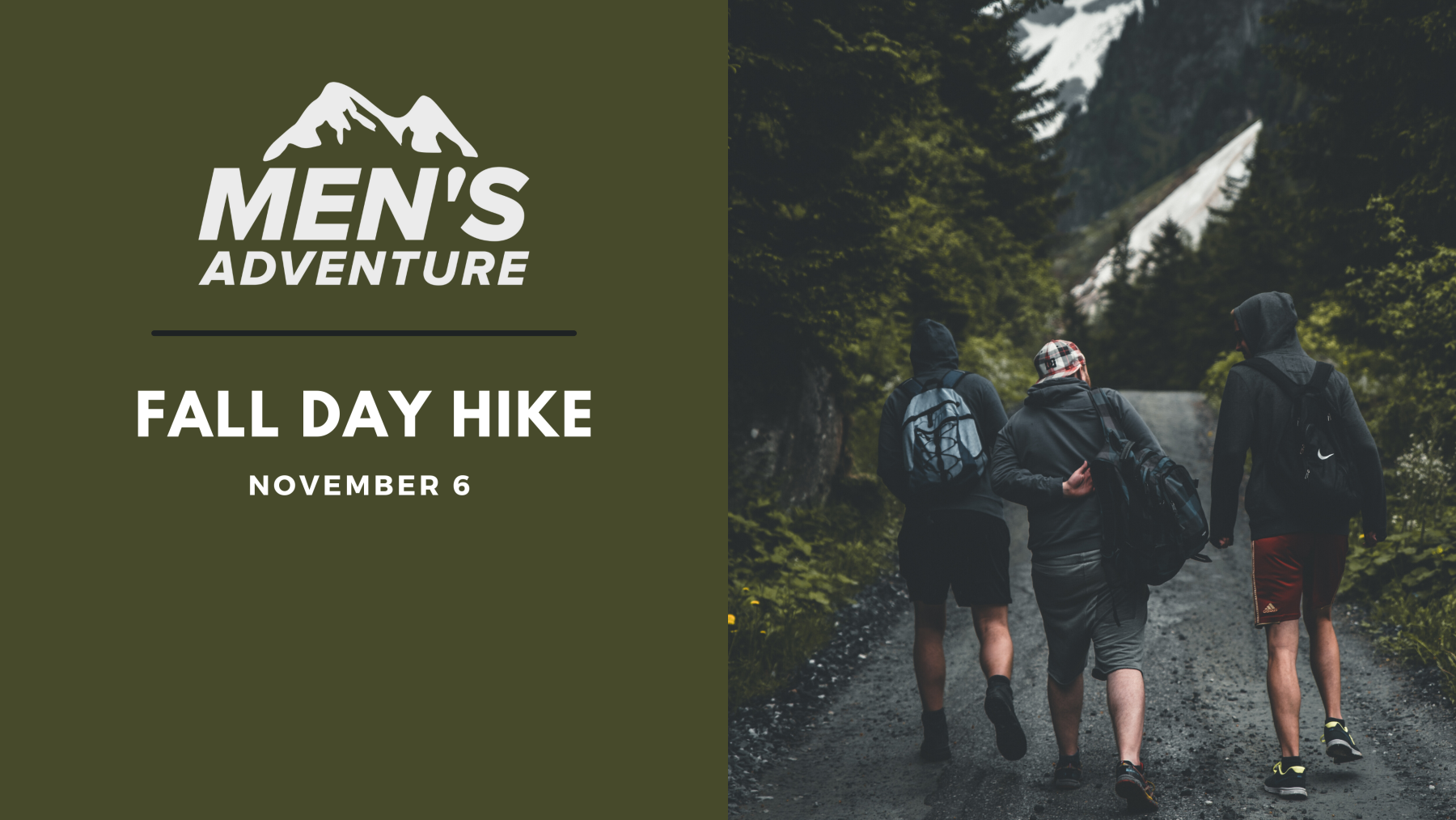 Men's Adventure Group - Fall Day Hike