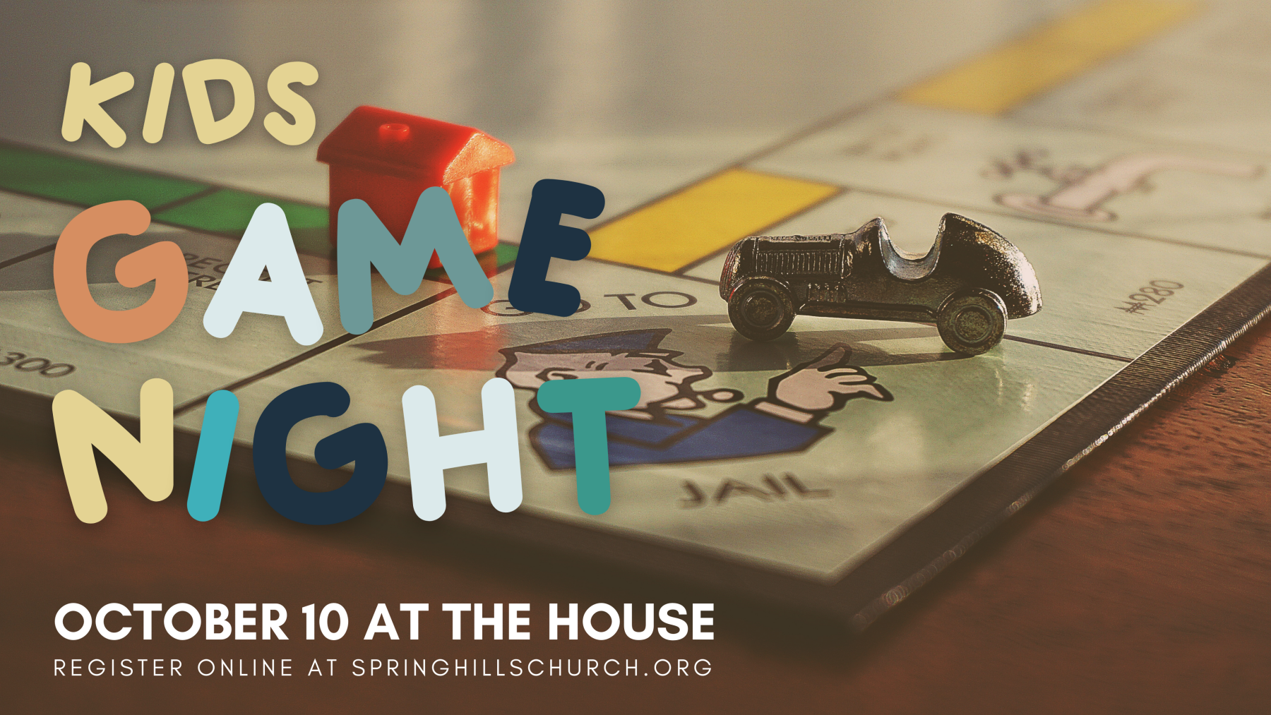 Kids Game Night at The House